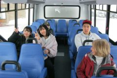 2020-01-bus-to-Timberline-with-Mary-Ann