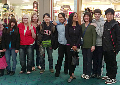 2013 Host Families with Japanese Exchange Students
