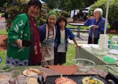 Skosh – okonomiyaki demo 2014
