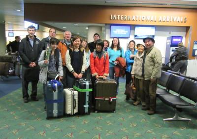 Ebetsu arrival 1/6/2016