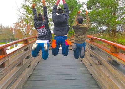 Tsuru Island Bridge Jump (GESCA Student Exchange 2018)