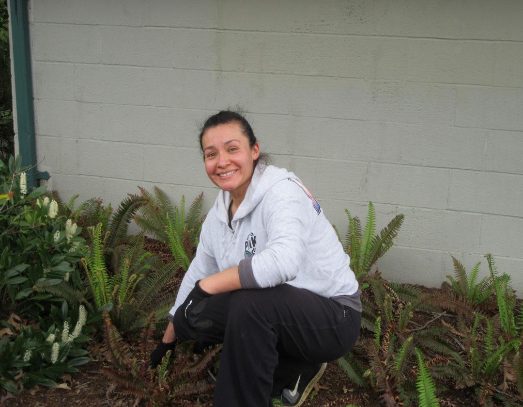 2018-04 Sanjuanita weeding