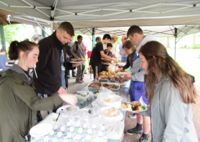 2018-04 Lunchtime at Coho