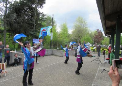 2018-04 Japanese folk dancers