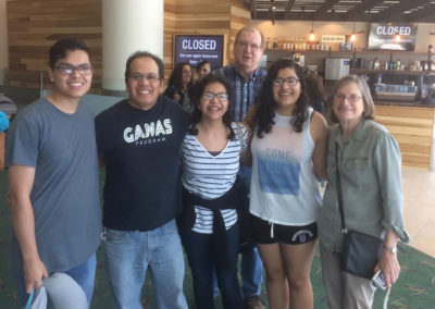 2017-07-25 Lopez family, Barry and Byerly welcome back Monica