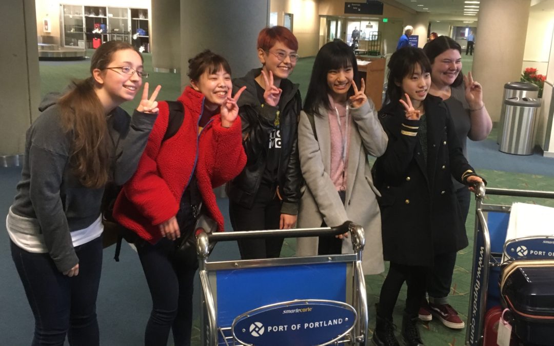 2019-01-10 Laurel Koharu Anne Mayu Rin Becca PDX