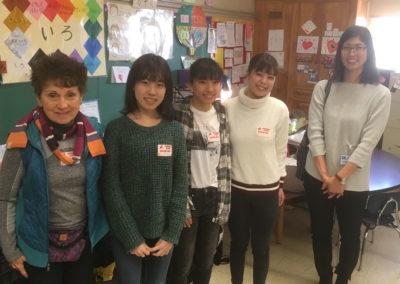 Ebetsu Exchange Students at Richmond  pic 1