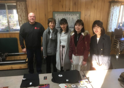 Ebetsu Exchange Students at Tsuru Island (pic 1)