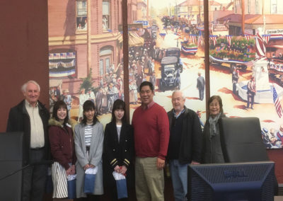 Ebetsu Exchange Students at Fire, Police, and School (and Mayor) (pic 7)
