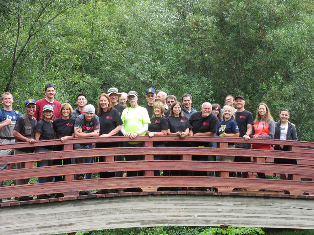 Bridge Renovation Volunteers
