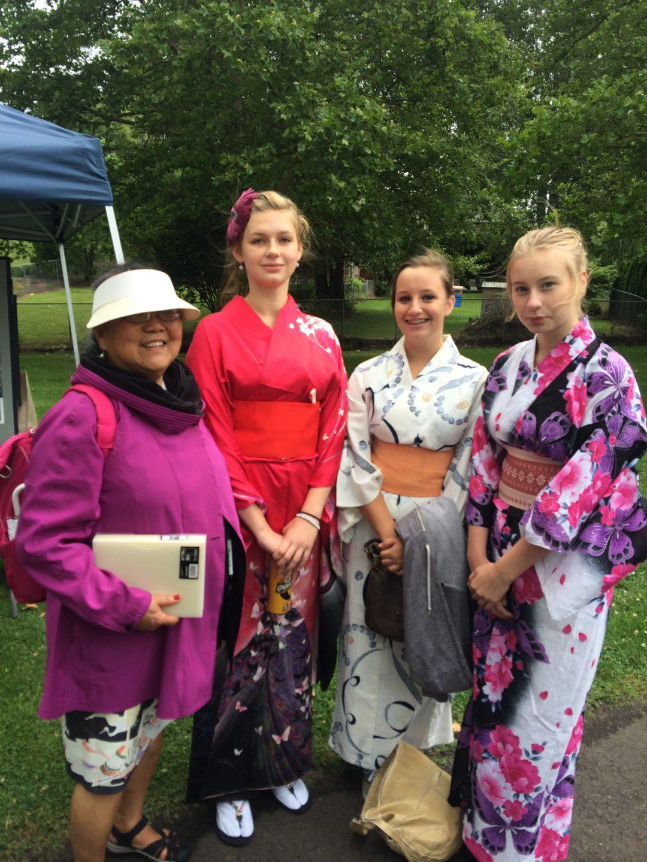 Tomiko & 2015 Cultural Event Volunteers
