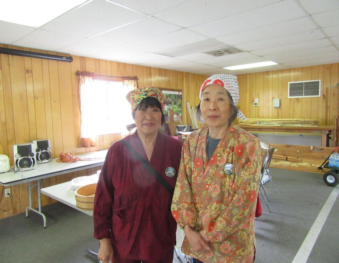 2018-04 Making Japanese food for Shoebox
