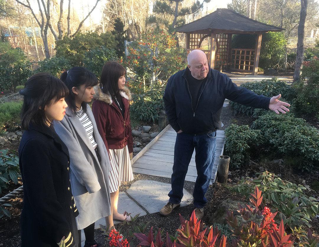 Ebetsu Exchange Students at Tsuru Island (pic 5)